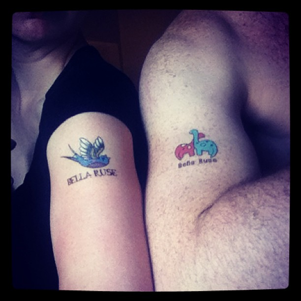 New temporary tats! Available when you preorder our upcoming album.