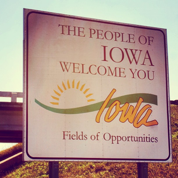 Hello Iowa! FarmerSongFest tonight!