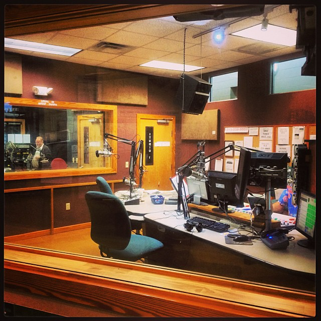On the WMNF morning show!